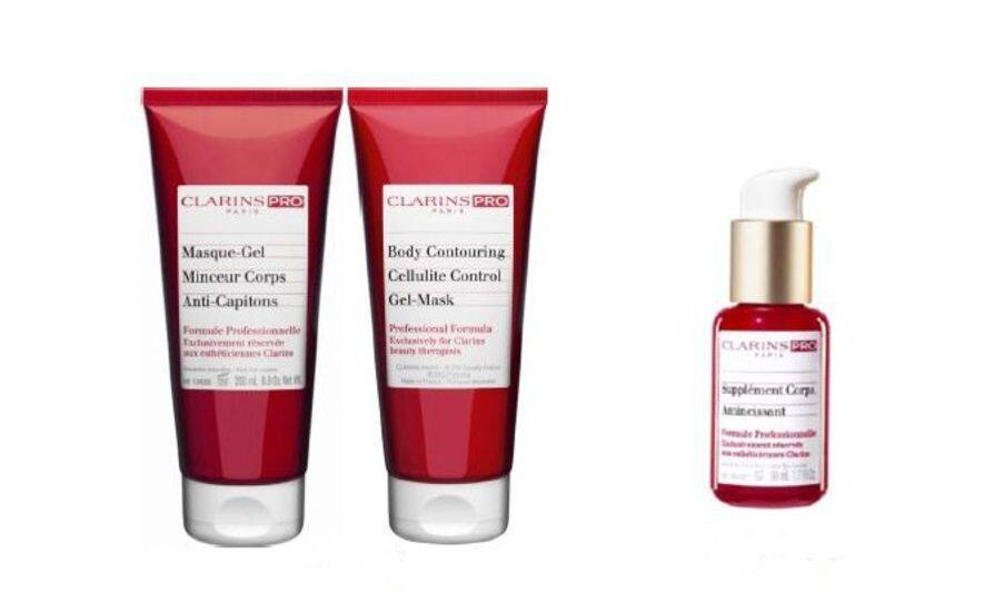 美容產品, clarins, 瘦身, Body contouring cellulite control gel-mask