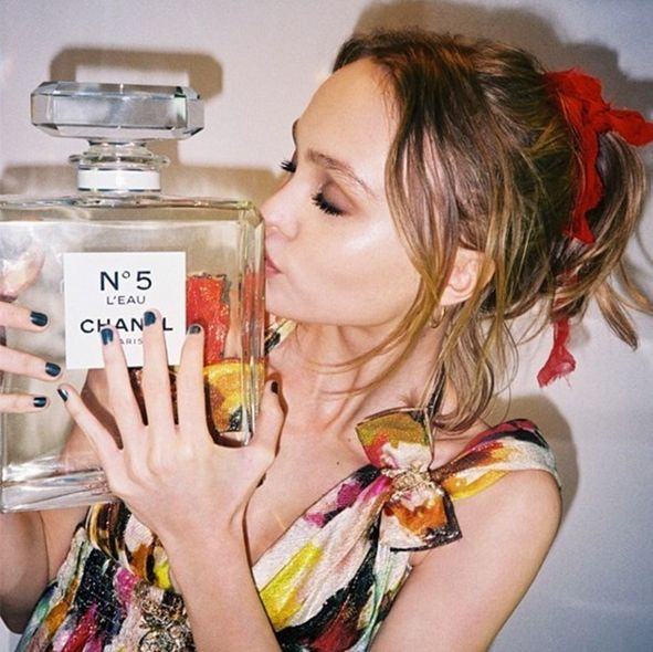 Lily-Rose Depp, CHANEL, 香水, fragrance