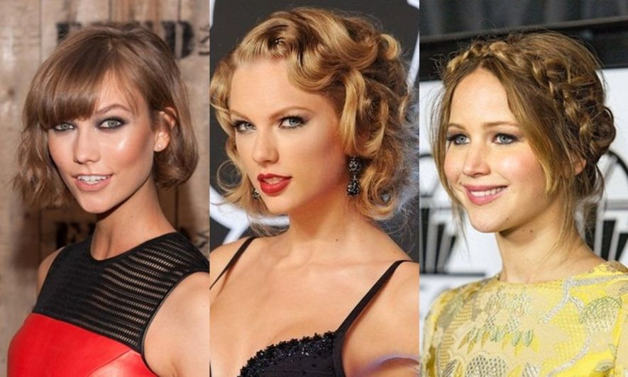 髮型, 美髮, hairdo, Taylor Swift, Jennifer Lawrence, Karlie Kloss