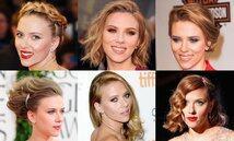 Scarlett Johansson, hair style, 髮型, 美髮