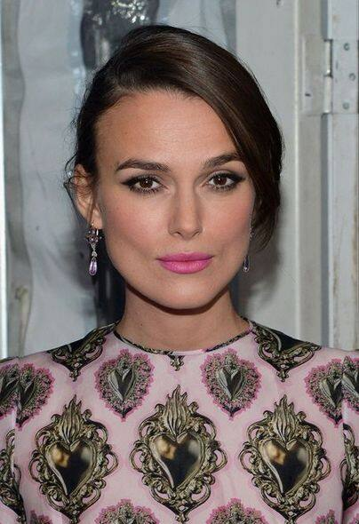 Keira knightley, beauty, 化妝, 髮型