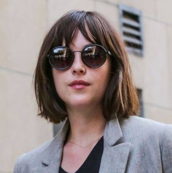 Dakota Johnson, 髮型, hair style