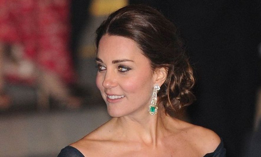 Kate Middleton, 彩妝, 髮型