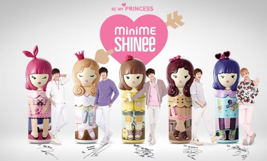 SHINee, Etude House, 香水