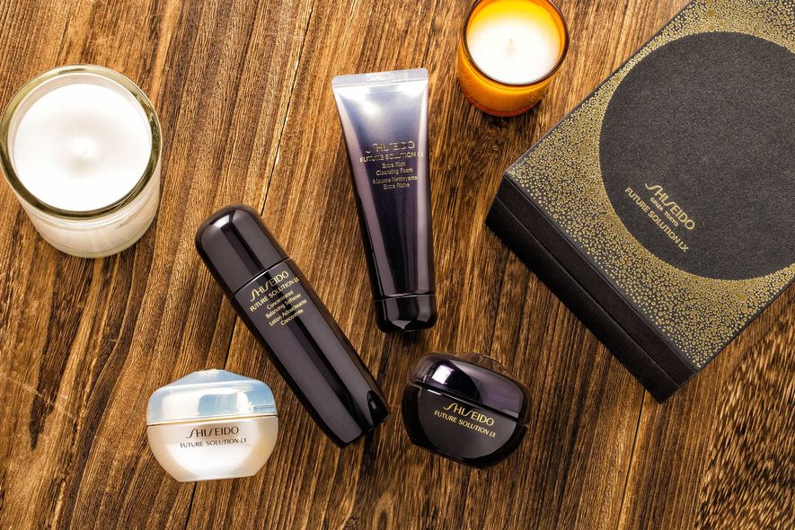 SHISEIDO,future solution,抗衰老,護膚品,聖誕