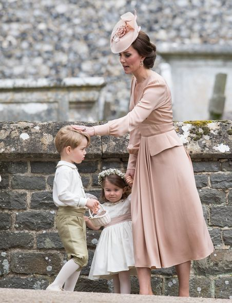 喬治小王子 , 威廉王子 , 花童 , 婚禮 , 結婚 , 凱特 , Pippa Middleton , Kate Middleton , Prince George , Prince William , 夏洛特小公主 , Princess Charlotte