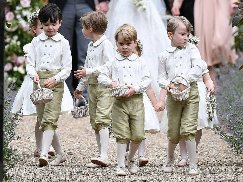 喬治小王子 , 威廉王子 , 花童 , 婚禮 , 結婚 , 凱特 , Pippa Middleton , Kate Middleton , Prince George , Prince William