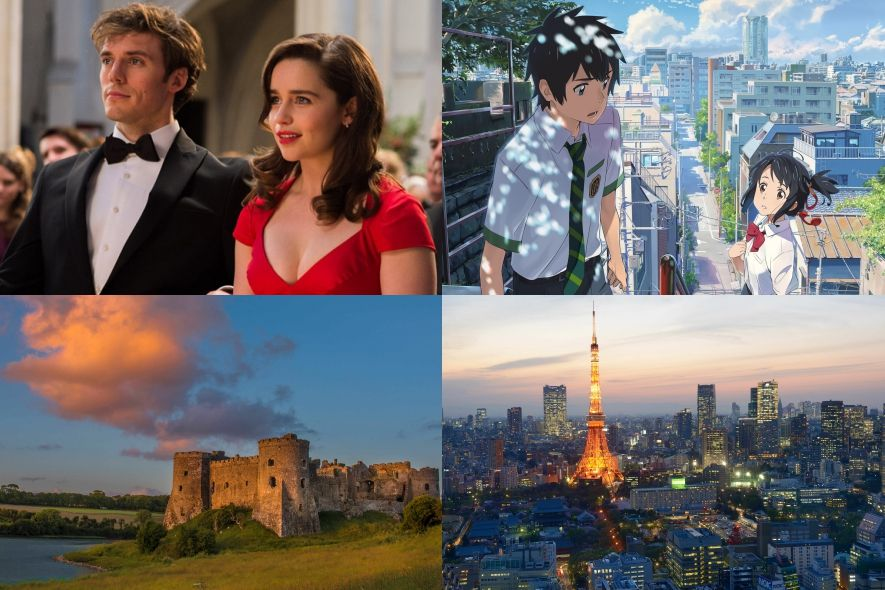 你的名字, Before Sunrise, Me Before You, 電影, 度蜜月, 結婚, 蜜月, 東京, 巴黎, 旅行