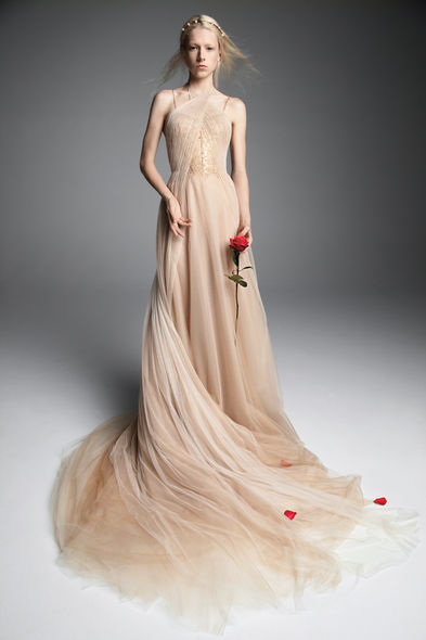 "Hong Kong – ""I am always excited to see Vera Wang's latest seasons! The designer never fails to provide new perspectives to the bridal scene, from contrasting colors to unique"