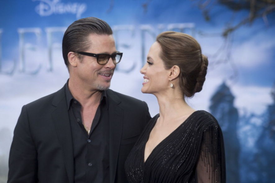 Brad Pitt, Angelina Jolie, Hollywood, 訪問