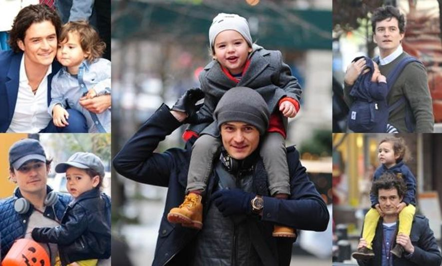 最型父子!Orlando Bloom 與 Flynn Bloom