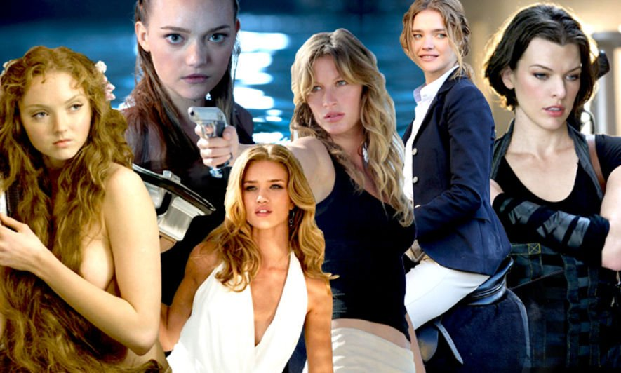 名人明星, Gemma Ward, Gisele Bundchen, Rosie Huntington-Whiteley