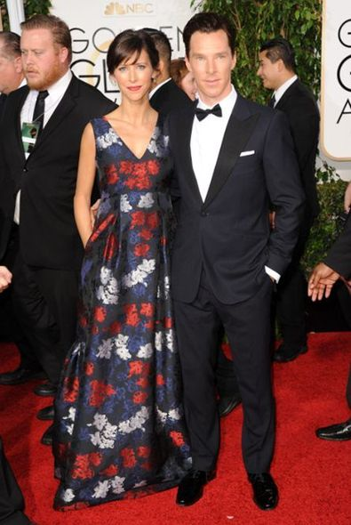 Benedict Cumberbatch 和太太 Sophie Hunter