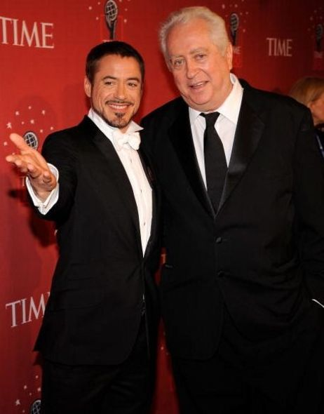 Robert Downey Jr. 與同為影星的父親Robert Downey Sr.