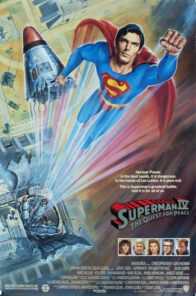 Superman IV, The Quest for Peace, 電影, 1987