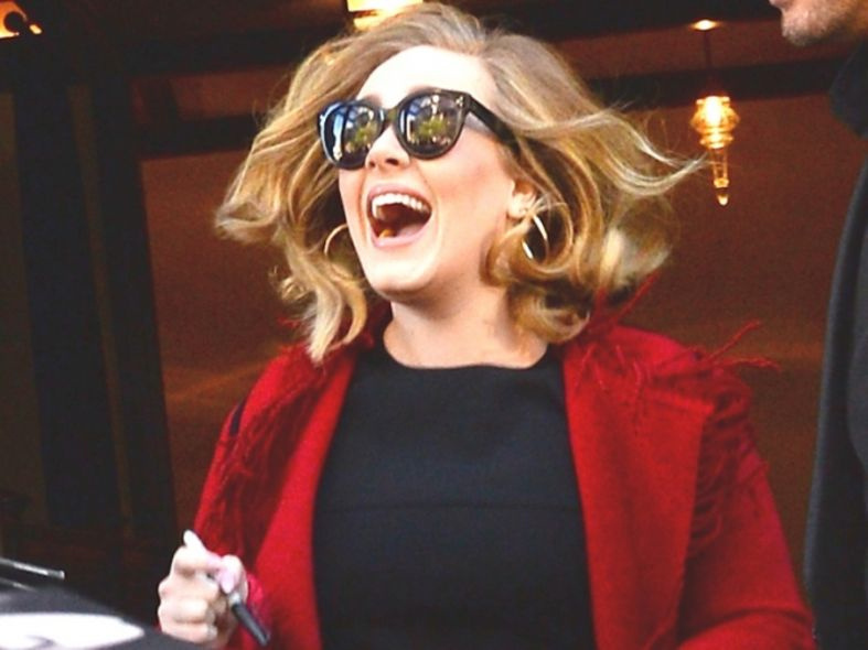 Adele, Funny moments