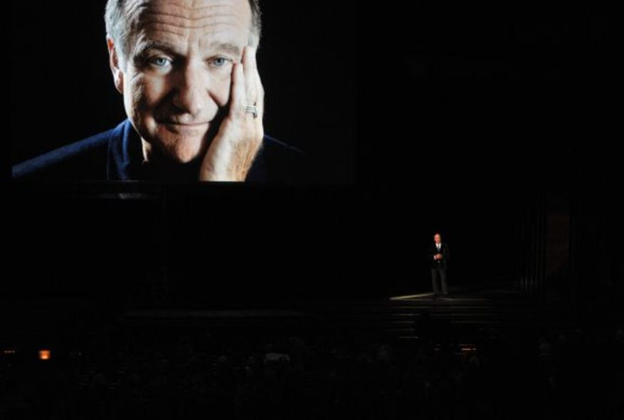 影星 Billy Crystal 向好友 Robin Williams 致敬