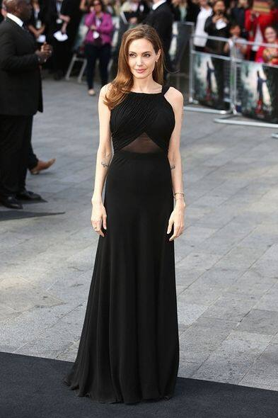Angelina Jolie, Saint Laurent