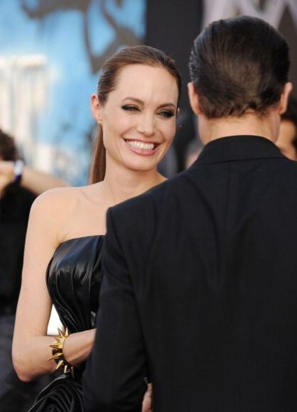 Maleficent Movie Premiere Angelina Jolie