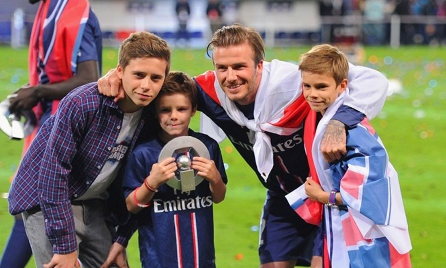 碧咸, David Beckham, Brooklyn Beckham
