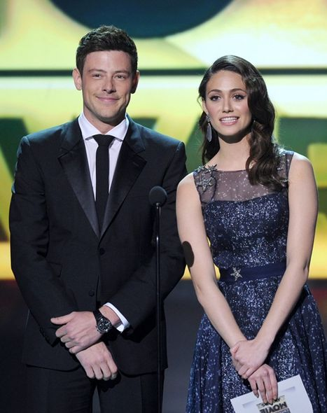 Cory Monteith與Emmy Rossum