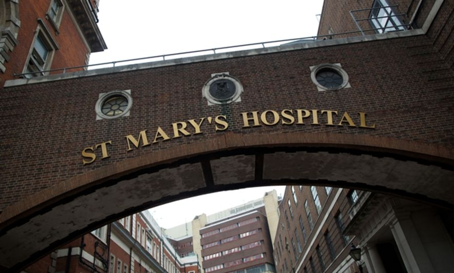 kate admitted to st marys hospital