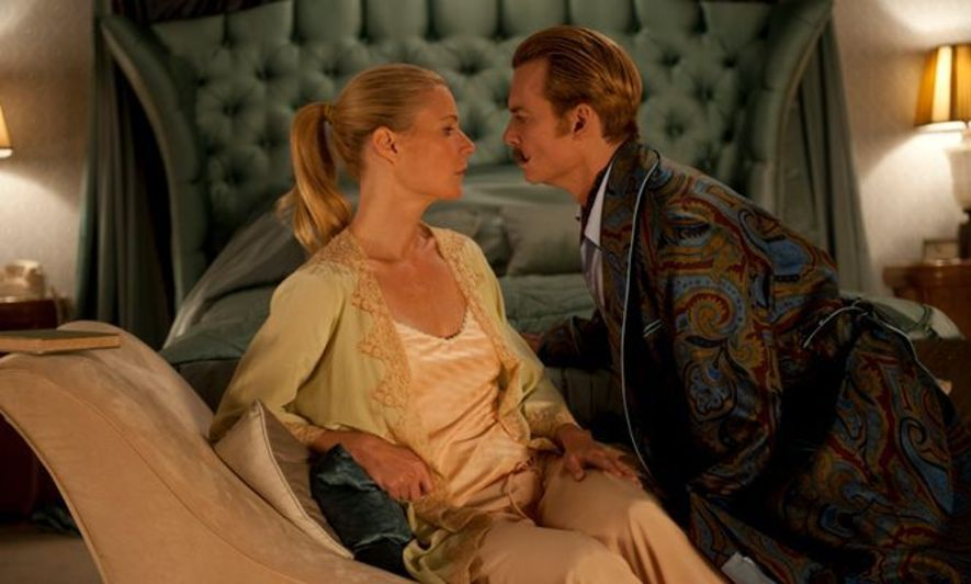 Johnny Depp  Gwyneth Paltrow