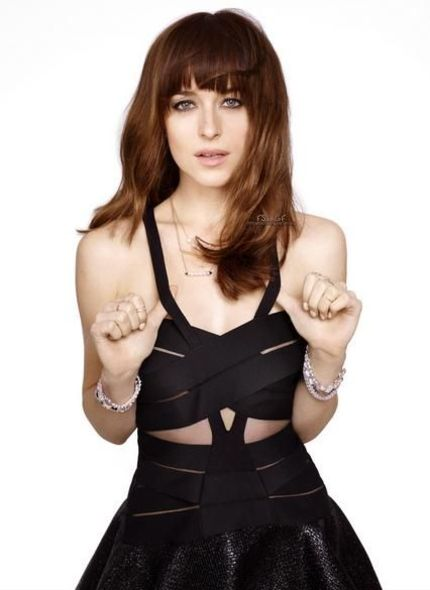 Elle March 2014 Dakota Johnson Us