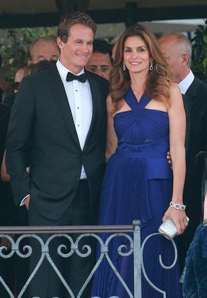 好友兼前超模 Cindy Crawford 及丈夫 Rande Gerber
