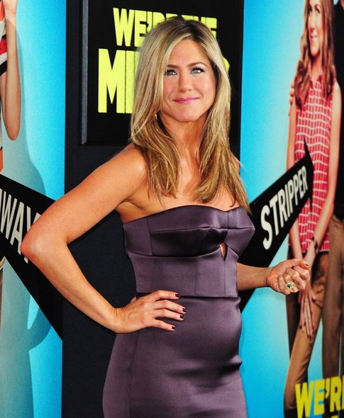 Jennifer Aniston, 懷孕, 大肚