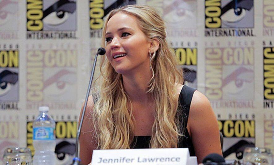 Jennifer Lawrence, 減肥, hunger games, mocking jay 2, 飢餓遊戲, 自由幻夢2