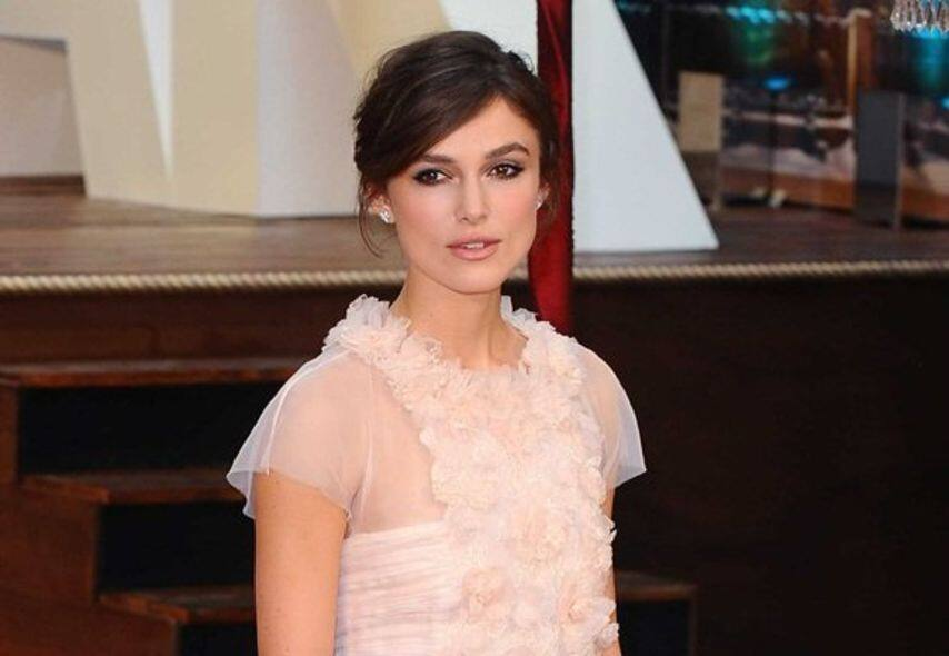Keira knightley, wedding gown, chanel