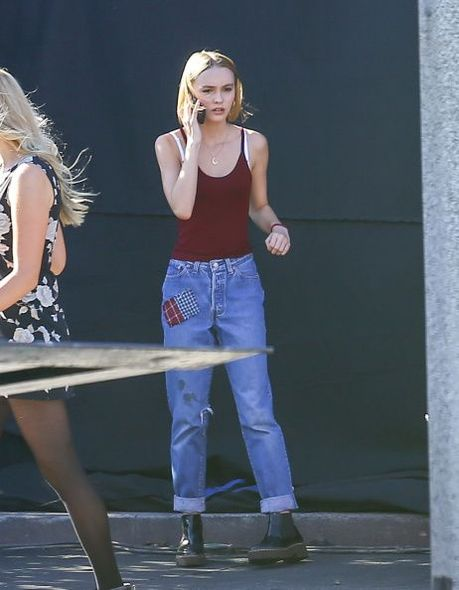 lily rose depp, johnny depp, venessa paradis, music video