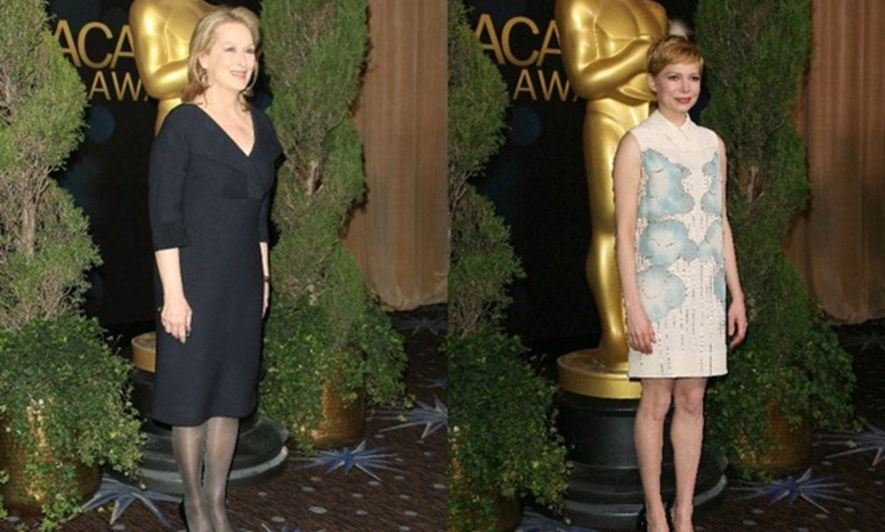 2012奧斯卡: Meryl Streep與Michelle Williams成影后大熱