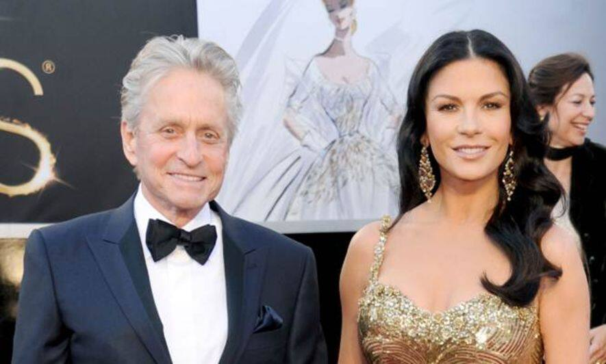 Michael Douglas 與Catherine Zeta-Jones 現婚姻危機