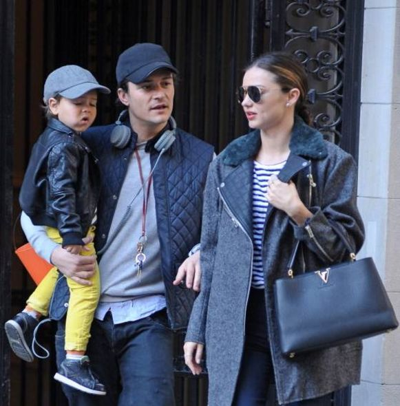 前夫 Orlando Bloom 與兒子 Flynn Bloom Miranda Kerr