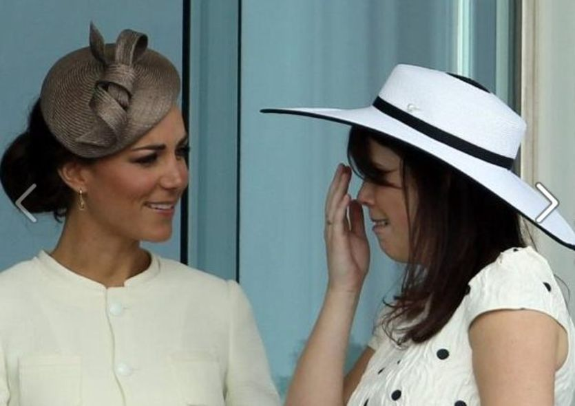 Kate Middleton 與 Princess Eugenie