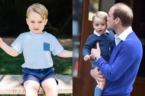 喬治王子, Prince George, Prince William, 威廉王子