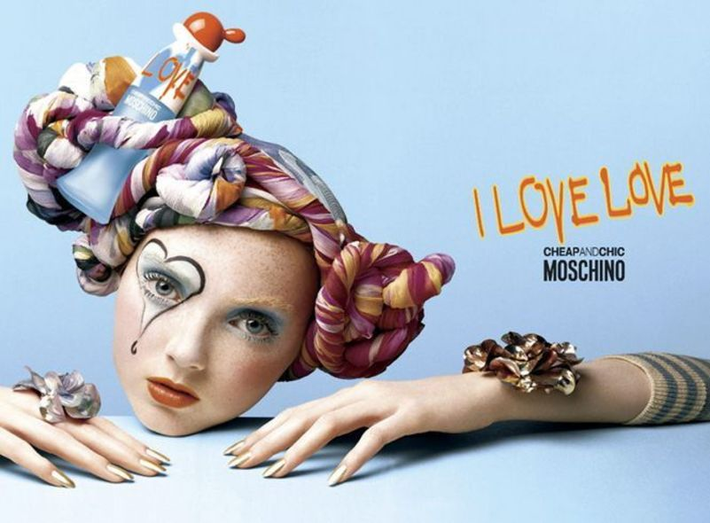 Lily Cole 以往精靈系作品:Moschino Cheap And Chic