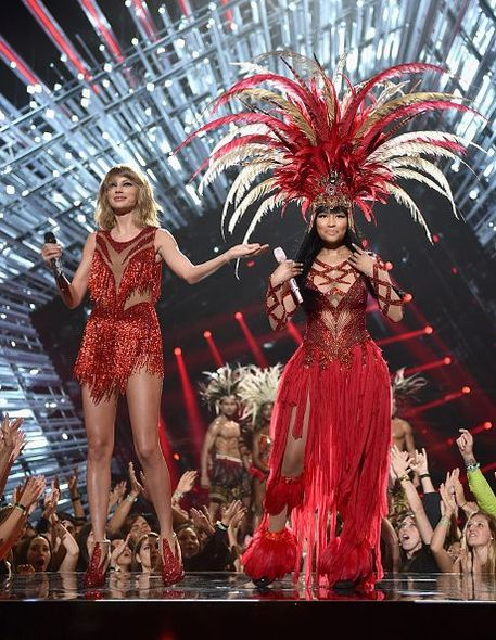 Taylor Swift, Nicki Minaj, MTV, VMAS, Bad Blood, 頒獎禮, 獎項