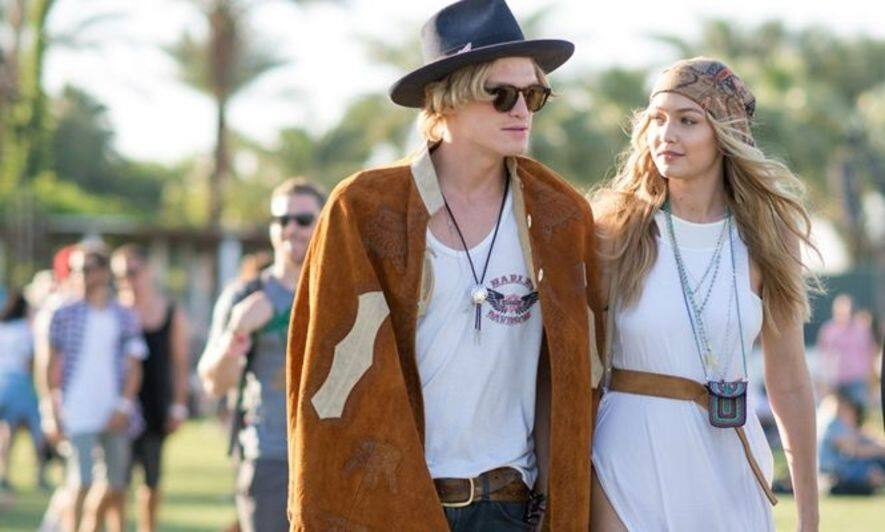 Gigi Hadid, 明星, Coachella, Cody Simpson