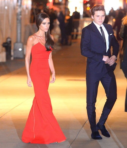 Brooklyn Beckham, Victoria Beckham, Award, David Beckham