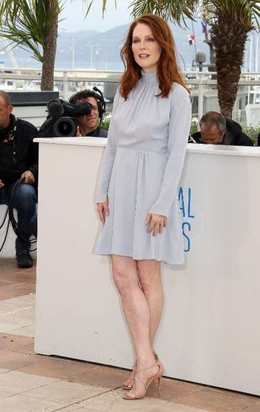 Julianne Moore 出席電影《Maps To The Stars》宣傳活動