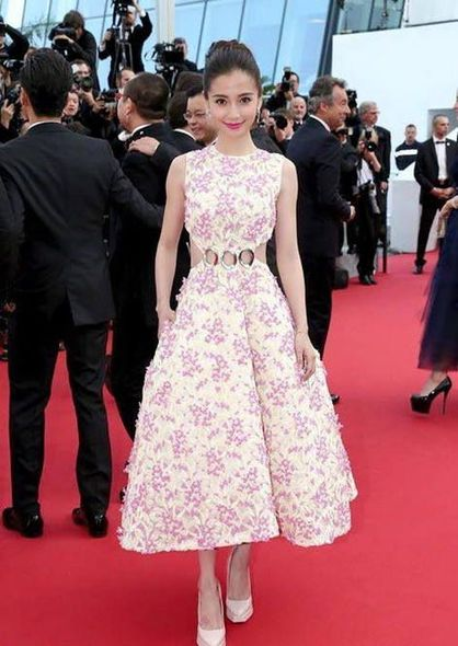康城, cannes, red carpet, Angelababy, 范冰冰, Natalie Portman