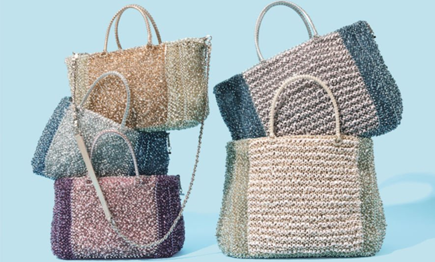 Anteprima,wirebag,metallic,summer bag