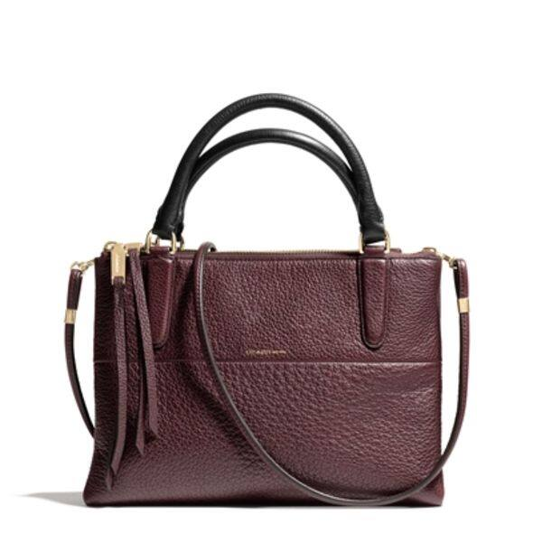 Pebbled Borough in Oxblood (Mini Size) $4,500