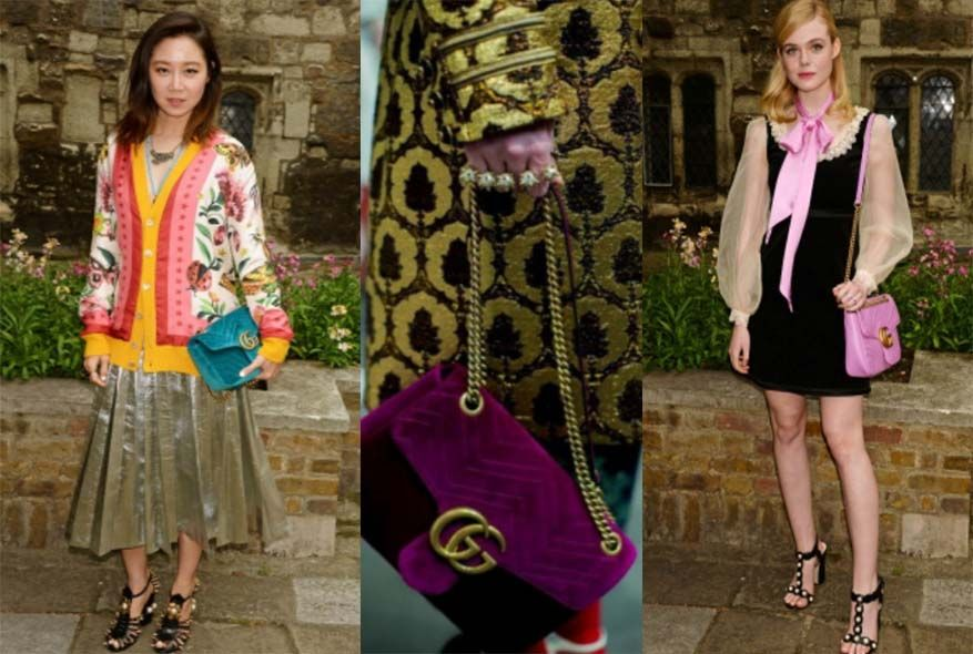 Gucci, GG Marmont, 孔孝真, Elle Fanning