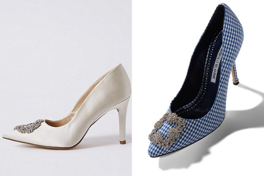 Manolo Blahnik, Marks & Spencer