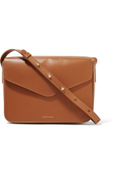 Mansur Gavriel啡色斜揹袋 $8,500 available at net-a-porter.com