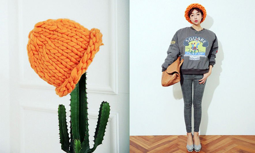 Ktrend, 韓國時裝, Korean fashion, 冷帽. Loopy Mango